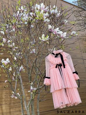 """Детска рокля """"BRUGES"""" pink edition 1"""