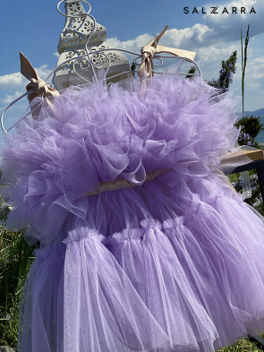 "Детска рокля ""БАЛЕРИНА"" purple edition 1"