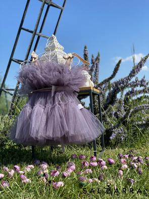 "Детска рокля ""БАЛЕРИНА"" smokey violet edition 1"