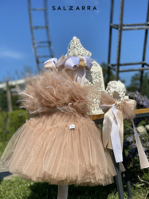 "Детска рокля ""БАЛЕРИНА"" nude edition 1"
