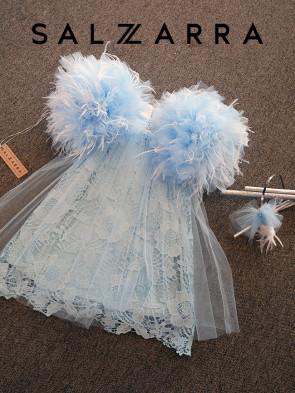 """Детска рокля """"ПЕПЕЛЯШКА"""" 1"""
