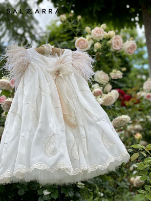"Детска луксозна рокля ""АУРЕЛИЯ"" 1"