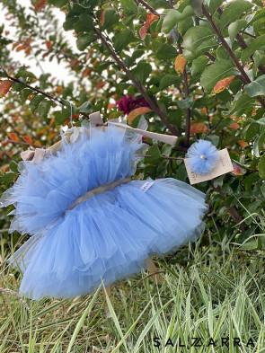 """Детска рокля """"БАЛЕРИНА"""" blue edition 1"""