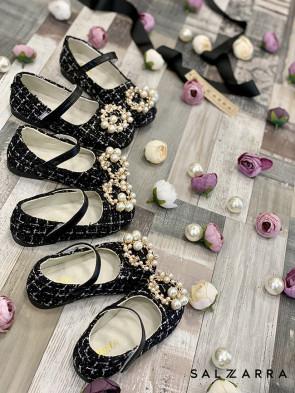"""Детски обувки """"BLACK PEARL"""" 1"""