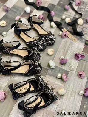 """Детски обувки """"BLACK RIBBON"""" 1"""