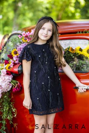 """Детска рокля """"BLACK LADY"""" 3"""