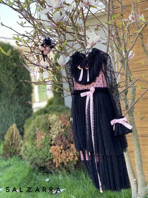 """Детска рокля """"BRUGES"""" black edition 1"""
