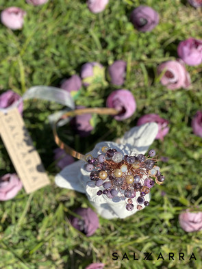 "Тиара ""БАЛЕРИНА"" smokey violet edition 1"