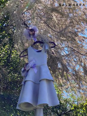 "Детска рокля ""ВИОЛА"" purple edition 1"