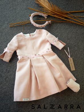 "Детска рокля ""РОЗОВ КРИСТАЛ"" 1"