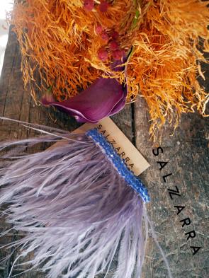 """Луксозен аксесоар за коса - клипс """"Maison Violet"""" 1"""