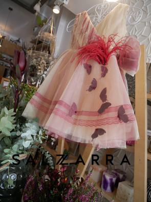 """Луксозна детска рокля """"Bordeaux"""" 3"""