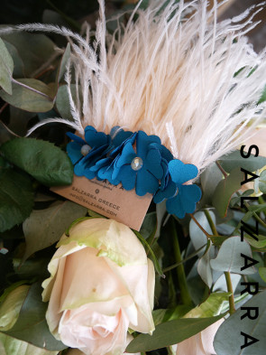 """Луксозен аксесоар за коса - клипс """"Blue Paris"""" 1"""