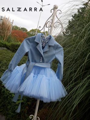 """Детска рокля """"BLUE TULIP"""" 1"""