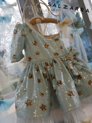 """Детска рокля """"ИЗЛЯЗЛА ОТ ПРИКАЗКИТЕ"""" 1"""