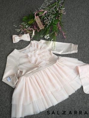 """Детска рокля """"СНЕЖНА ЦЕЛУВКА"""" 1"""