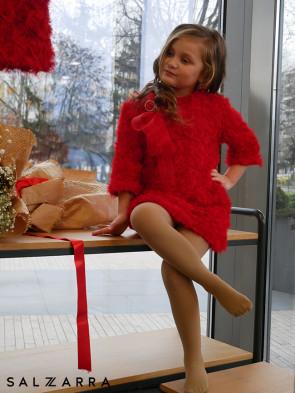 "Детска рокля ""RED BEAUTY"" 1"