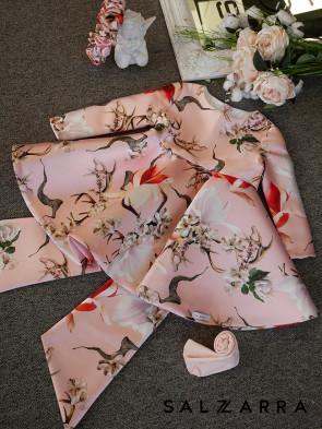 """Детска рокля """"BIRD&FLOWERS"""" 1"""