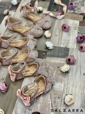 """Детски обувки """"PINK RIBBON"""" 1"""