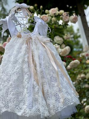 "Детска луксозна рокля ""РОЗАЛИНДА"" 1"